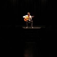 Actuación en el Teatro El Albeitar de León el 25 de Octubre de 2013. ©Juan Luis García